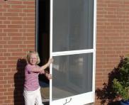 Metallbau Insektenschutz, Fliegengitter Tür, Spannrahmen Insekt Schutz