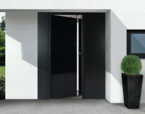 Haustür Verglast, Kunststoff Tür, Harsewinkel Haustürfüllung